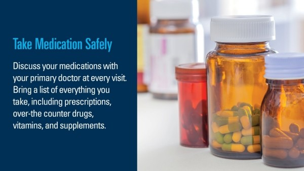 info graphic on medication safety