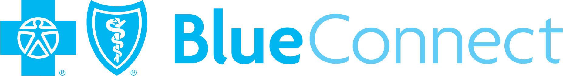 blue connect logo
